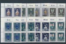 LL92621 Germany Bundespost artefacts art blocks of 4 MNH