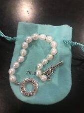 Tiffany & Co Pearl  Toggle Bracelet