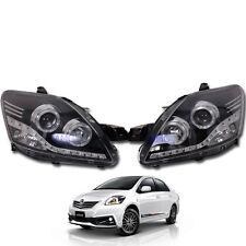 For 07-12  Toyota Vios Yaris Sedan Belta Sedan Projector Led Head Lamp light