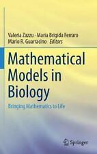 Mathematical Models in Biology : Bringing Mathematics to Life (2015, Hardcover)