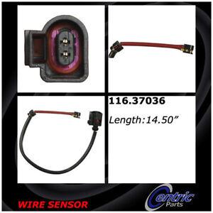 Disc Brake Pad Wear Sensor-Brake Pad Sensor Wires Front Centric 116.37036