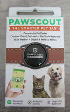 ~NEW~ PAWSCOUT THE SMARTER PET TAG COMMUNITY PET FINDER ~125~