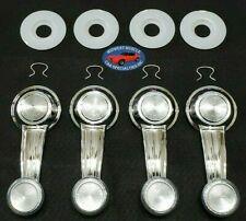 67-81 GM Door Panel Window Glass Regulator Crank Handle & Washers Clear 12pcs RD