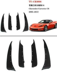 For Chevrolet Corvette C6 2005-2013 Car Mud Flaps Splash Guards Dirt Fender Mudg