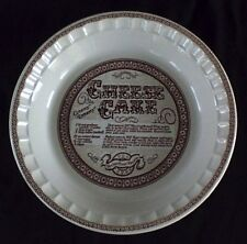 Vintage Royal China / Jeanette CHEESE CAKE Plate ** USA