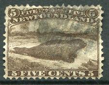 NEWFOUNDLAND ~ #25 Nice Used Issue HARP SEAL MARINE ANIMAL ~ S5462