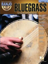 Bluegrass Sheet Music Banjo Play Along Book and CD NEW 000102585