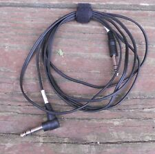 "Yamaha 5' to 6' Stereo (TRS) Patch Cable Cables with 1/4"" Jacks Electronic Drum"