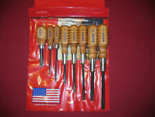 GRACE 8PC GUNSMITH MACHINIST  SCREWDRIVER SET MADE IN THE USA HG-8