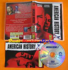 DVD AMERICAN HISTORY edward norton furlong MEDUSA SERIE PREMIUM mc lp vhs cd(D5)