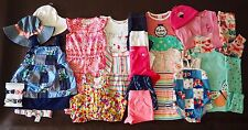 NEW GYMBOREE & CARTER'S Baby Girl Spring Summer Lot - 25 PIECES - 6 - 12 Months