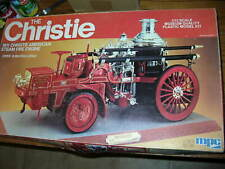 Unbuilt 1/12 Scale MPC Model Kit 1911 CHRISTIE AMERICAN STEAM FIRE ENGINE
