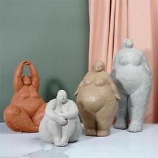 Fat Lady Ornaments Large Figurine Woman Figure Sculptures Home Decoration Gift
