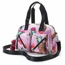 JUICY COUTURE Mix Master Nylon CrossBody Satchel Purse FRUIT PUNCH MSRP $89 NWT