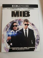 Men In Black International (4K Ultra Hd + Blu-Ray) w/Slipcover - No Digital
