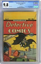 S936. DETECTIVE COMICS #27 by DC CGC 9.8 NM/MT (1984) OREO COOKIES GIVEAWAY
