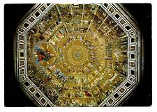 Florence Baptistery Postcard Italy Firenze Cupola Interior Decorated Mosaics