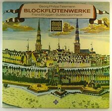 "12"" LP-Georg Philipp Telemann-Block flautí opere-m699-Slavati & cleaned"