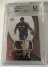 2007-08 UD Exquisite Patch Joe Johnson 02/10 ! Jersey Numbered! BGS 8.5! Rare!