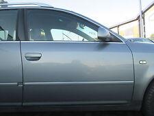 Tür vorne rechts Audi A6 4B VOR-Facelift achatgrau LY7L grau