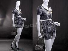 Fiberglass Female Display Mannequin Manequin Egg Head Dress Form MZ-LISA4EG