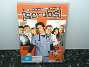 SCRUBS - The Complete Sixth Season - 4 Disc Set Region 4 DVD