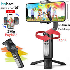Hohem iSteady X 3-Axis Smartphone Gimbal Handheld Stabilizer for iPhone Samsung