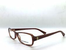 Emporio Armani Eyeglasses EA 3016 5099 Striped Brown, Size 53-16-135