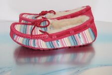 Women's UGG Australia SYMONA SERAPE Moccasin Slippers - Size US 5