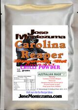 Gourmet  Fresh Ground Carolina Reaper Chili Powder 10gram  chilli