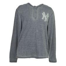 MLB New York Yankees Hoodie Hood Long Sleeve Mens Adult Pullover Sports Medium