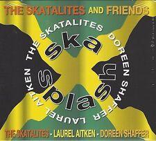 THE SKATALITES & FRIENDS - SKA SPLASH - (still sealed digi pak cd) - PDROP CD 18