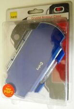 CRYSTAL ARMOUR CASE LOGIC 3 FOR PSP SLIM & LITE BLU NUOVO