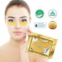 10Pair Collagen Eye Mask Care Treatment Patches Gold Dark Circle Whitening Pack