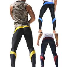 Herren Kompression Leggings Gym Lange Hosen Sport Fitness Funktionsunterwäsche