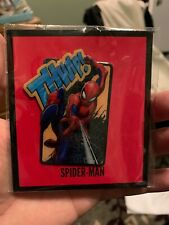 Loot Crate SPIDER-MAN THWIP! Large Enamel Pin MARVEL Gear & Goods NEW IN BAG