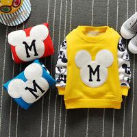 IENENS Baby Boys Clothes Clothing T-shirt Kids Boy T-shirts Coat Hoodies