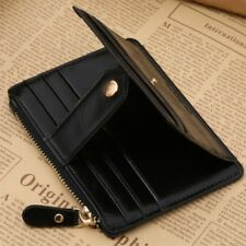 Fashion Men Small ID Credit Card Business Slim Wallet Coin Holder Pocket Case