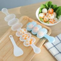 Sushi Maker Mold Rice Ball With Spoon Kitchen Tools 1 Set Gadget Mould Roller