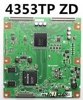 SHARP T-Con Board CPWBX RUNTK 4353TP ZD  SHARP SONY KDL