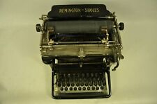 COLLECTIBLE TYPEWRITER REMINGTON SHOLES 11 - NO RISK WITH SHIPPING