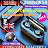 TWS Bluetooth 5.0 8D Headset Twins Wireless Headphone Stereo Earphone Earbuds UK