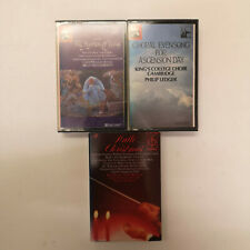 3 Classical Christian & Christmas Music Cassettes