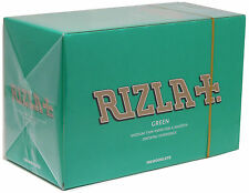 100 x Rizla Green Medium Weight Reg Cigarette Rolling Papers 100% Genuine Rizzla