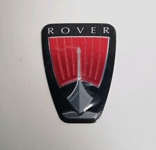 GENUINE ROVER 75 FACELIFT FRONT GRILLE GRILL BADGE DAD000021 SELF ADHESIVE