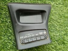 1995-2001 FORD EXPLORER MOUNTAINEER CENTER CONSOLE INFO SCREEN BLACK OEM