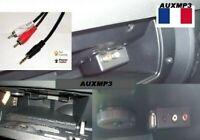 Cable auxiliaire RCA jack mp3 autoradio citroen peugeot 208 3008 308 307