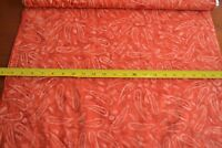 By 1/2 Yd, Orange on Orange Tonga Batik, Timeless Treasures/B9121/RED, B789