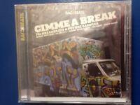 BACK BEATS.    GIMME. A. BREAK.      SEVENTIES BREAKBEATS  N. FUTURE SAMPLES  CD