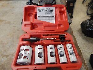 MILWAUKEE 49-22-4006 Hole-Dozer 9pc Hole Saw Kit General Purpose NEW UNUSED